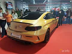 Back/Side of Mercedes-Benz C-Class Coupé 2015 at Warsawa Motorshow 2018