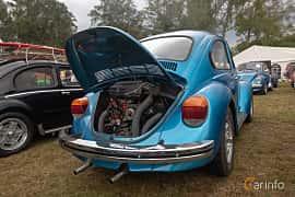 Back/Side of Volkswagen 1303 S 1.6 Manual, 50ps, 1974 at West Coast Bug Meet 2019