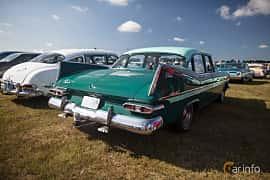 Back/Side of Plymouth Belvedere 4-door Sedan 5.2 V8 TorqueFlite, 233ps, 1959 at Wheels & Wings 2017