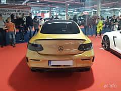Back of Mercedes-Benz C-Class Coupé 2015 at Warsawa Motorshow 2018