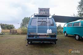 Back of Volkswagen Transporter 2.0 70ps, 1981 at West Coast Bug Meet 2019