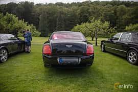 Back of Bentley Continental Flying Spur 6.0 W12 TipTronic, 560ps, 2006 at Rolls-Royce och Bentley, Norrviken Båstad 2019