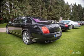 Back/Side of Bentley Continental Flying Spur 6.0 W12 TipTronic, 560ps, 2007 at Rolls-Royce och Bentley, Norrviken Båstad 2019