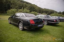 Back/Side of Bentley Continental Flying Spur 6.0 W12 TipTronic, 560ps, 2006 at Rolls-Royce och Bentley, Norrviken Båstad 2019