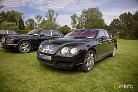 Front/Side  of Bentley Continental Flying Spur 6.0 W12 TipTronic, 560ps, 2006 at Rolls-Royce och Bentley, Norrviken Båstad 2019