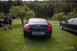 Back of Bentley Continental GT 6.0 W12 Automatic, 560ps, 2007 at Rolls-Royce och Bentley, Norrviken Båstad 2019