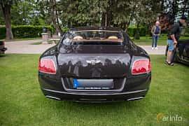 Back of Bentley Continental GT 6.0 W12 Automatic, 575ps, 2012 at Rolls-Royce och Bentley, Norrviken Båstad 2019