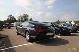 Back/Side of Bentley Continental GT 6.0 W12 Automatic, 560ps, 2006 at Autoropa Racing day Knutstorp 2019