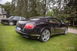 Back/Side of Bentley Continental GT 6.0 W12 Automatic, 575ps, 2012 at Rolls-Royce och Bentley, Norrviken Båstad 2019
