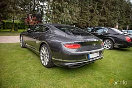 Back/Side of Bentley Continental GT 6.0 W12 TSI DCT, 635ps, 2018 at Rolls-Royce och Bentley, Norrviken Båstad 2019
