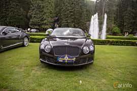 Front  of Bentley Continental GT 6.0 W12 Automatic, 575ps, 2012 at Rolls-Royce och Bentley, Norrviken Båstad 2019