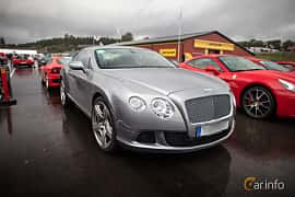 Front/Side  of Bentley Continental GT 6.0 W12 Automatic, 575ps, 2012 at Autoropa Racing day Knutstorp 2015