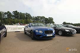 Front/Side  of Bentley Continental GT V8 S Convertible 4.0 V8 Automatic, 528ps, 2016 at Autoropa Racing day Knutstorp 2019