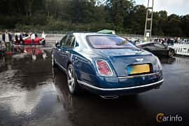 Back/Side of Bentley Mulsanne 2016 at Autoropa Racing day Knutstorp 2015