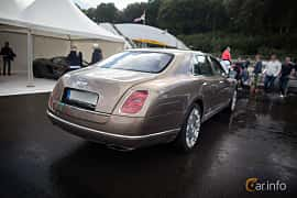Back/Side of Bentley Mulsanne 6.75 V8  Automatic, 512ps, 2012 at Autoropa Racing day Knutstorp 2015