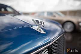 Close-up of Bentley Mulsanne 2016 at Autoropa Racing day Knutstorp 2015