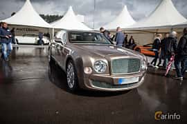 Front/Side  of Bentley Mulsanne 6.75 V8  Automatic, 512ps, 2012 at Autoropa Racing day Knutstorp 2015