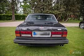 Back of Bentley Turbo R 6.75 V8 Automatic, 313ps, 1989 at Rolls-Royce och Bentley, Norrviken Båstad 2019