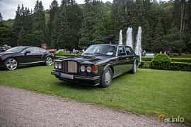 Front/Side  of Bentley Turbo R 6.75 V8 Automatic, 313ps, 1989 at Rolls-Royce och Bentley, Norrviken Båstad 2019