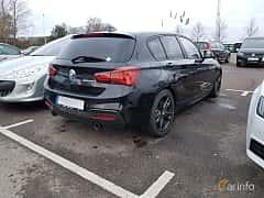 Back/Side of BMW M140i 5-door 3.0 Steptronic, 340ps, 2018