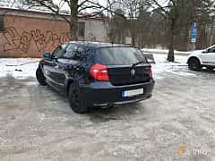 Back/Side of BMW 116i 5-door  Manual, 122ps, 2009