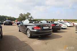 Back/Side of BMW 120d Convertible  Manual, 177ps, 2009 at Autoropa Racing day Knutstorp 2019