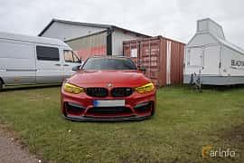 Fram av BMW M3  DCT, 431ps, 2015 på Vallåkraträffen 2019