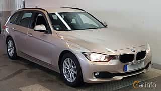 Fram/Sida av BMW 320d Touring 2.0 Manual, 163ps, 2015
