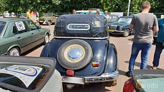 Back of BMW 321 Cabriolet 2.0 Manual, 45ps, 1939 at Leopolis Grand Prix 2018