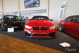 Front  of BMW M4 Coupé  DCT, 431ps, 2014 at Bilsport Performance & Custom Motor Show 2019