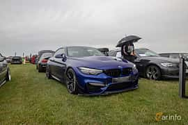 Front/Side  of BMW M4 CS  Drivelogic, 460ps, 2018 at Vallåkraträffen 2019