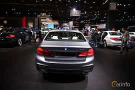 Bak av BMW 540i Sedan 3.0 Steptronic, 340ps, 2017 på North American International Auto Show 2017