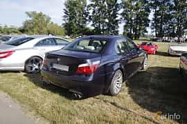 Back/Side of BMW M5 Sedan 5.0 V10 Automatic, 507ps, 2006 at Tisdagsträffarna Vikingatider v.21 / 2018