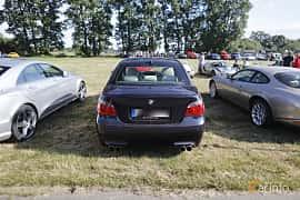 Back of BMW M5 Sedan 5.0 V10 Automatic, 507ps, 2006 at Tisdagsträffarna Vikingatider v.21 / 2018