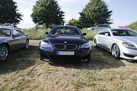 Front  of BMW M5 Sedan 5.0 V10 Automatic, 507ps, 2006 at Tisdagsträffarna Vikingatider v.21 / 2018