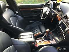 Interior of BMW M5 Sedan 5.0 V8 Manual, 400ps, 2000 at Vallåkraträffen 2017
