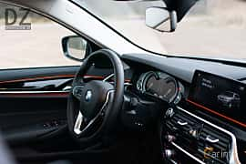 Interior of BMW 520d xDrive Touring  Steptronic, 190ps, 2019