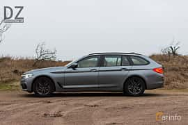 Side  of BMW 520d xDrive Touring  Steptronic, 190ps, 2019