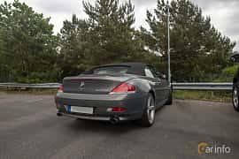Back/Side of BMW 645Ci Convertible  Automatic, 333ps, 2004 at Joe's garage 2019´s stora Jaugurevent