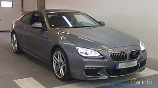 Front/Side  of BMW 640d xDrive Coupé 3.0 xDrive Steptronic, 313ps, 2015