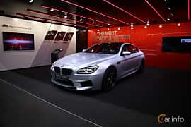 Fram/Sida av BMW M6 Gran Coupé 4.4  DCT, 560ps, 2017 på North American International Auto Show 2017