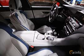 Interior of BMW M6 Gran Coupé 4.4  DCT, 560ps, 2017 at North American International Auto Show 2017