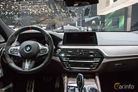 Interior of BMW 640d Gran Turismo xDrive  Steptronic, 320ps, 2018 at Geneva Motor Show 2018