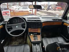 Interior of BMW 728i  Automatic, 184ps, 1982