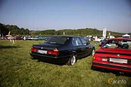 Bak/Sida av BMW 750iL 5.0 V12 Automatic, 300ps, 1989 på Tjolöholm Classic Motor 2018