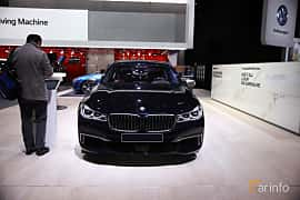 Fram av BMW M760Li xDrive 6.6 V12 xDrive Steptronic, 610ps, 2017 på North American International Auto Show 2017