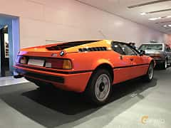 Bak/Sida av BMW M1 3.5 Manual, 277ps, 1979