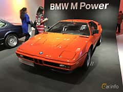 Front/Side  of BMW M1 3.5 Manual, 277ps, 1979
