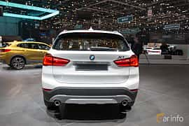 Back of BMW X1 xDrive18d  Steptronic, 150ps, 2018 at Geneva Motor Show 2018