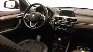 Interiör av BMW X1 sDrive18d 2.0 Manual, 150ps, 2017
